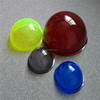 colored high grade openable acrylic hollow sphere