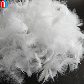 wholesale white duck feather cheap fillings for textile 2-4cm,3-5cm
