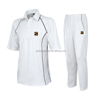 High quality 100% polyester dry fit custom cricket kit design uniforms