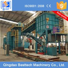 Sodium silicate-bonded sand recycling machine