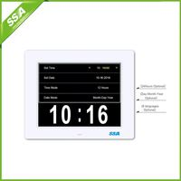 2016 directly supply date and day flip clock with Non-Abbreviated Day & Month