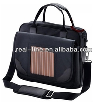 High Quality 600D Solar Charger Laptop Bag For Promotion