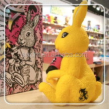 oem plastic toy color box yellow labbit Kidrobot Aiko Bunny by Aiko Nakagawa for kids