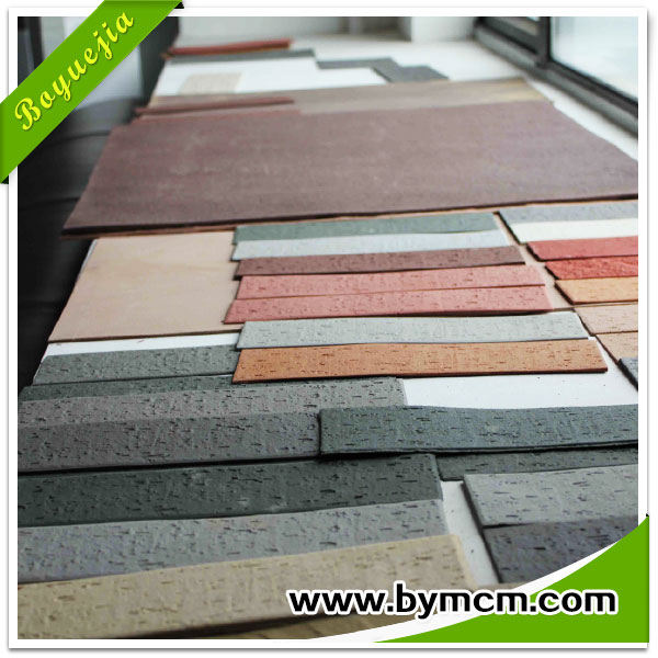 Eco-friendly engery-saving 2~5mm thickness flexible outdoor clay roof tile price