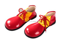 Plastic Red Yellow Green Color Clown Shoes For Carnival/Party