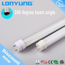 Single end power 600mm 1200mm 1500mm read tube 8 led light red tube