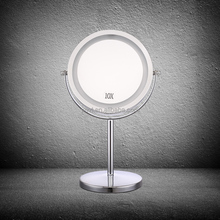 Professional Business Gift Magnifying LED Table Mirror Makeup , Makeup Vanity Mirror With Lights