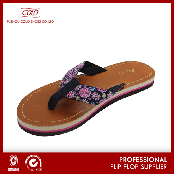 Coface New Product India Leather Ladies Chappals