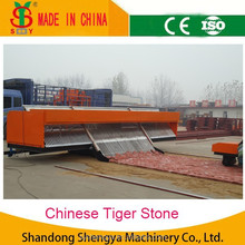 The best quality ! automatic paving brick machineautomatic tiger stone brick road laying machine.paver machine