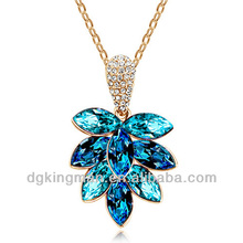The More Cheaper Jewelry, Wholesale Necklace With Leaf Shaped