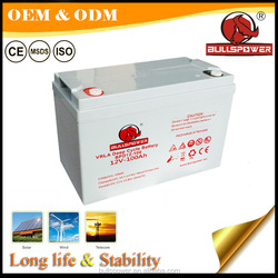 rechargeable Storage VRLA battery 12V200AH for uninterrupted power systems