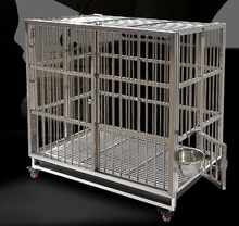 Hot sale expandable pet carrier folding dog animals house steel pet cage