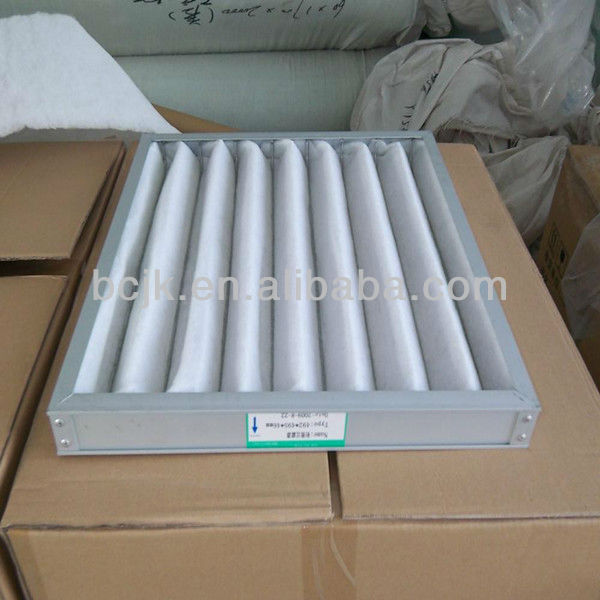AHU washable air filter/ahu air filter for dust holding collect in times initiazation(manufacture)