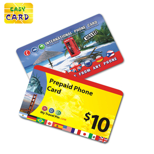 Scratch off panel prepaid phone calling recording cards