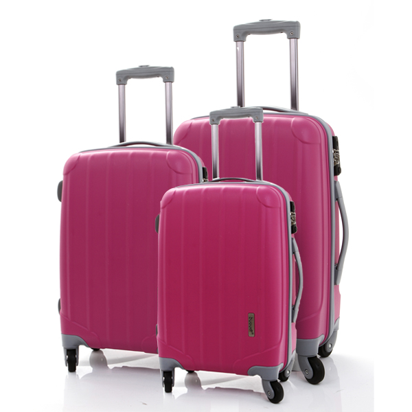 2016 BUBULE classic design trolley luggage PP material trolley luggage