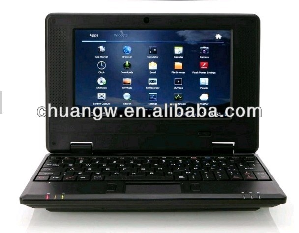 Cheap 7 Inch VIA 8850 Ram 512MB Rom 4GB 1.5GHz Android 4.1 Mini Laptop