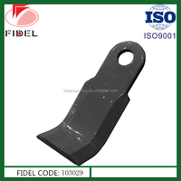 Factory price Flail mower blades, tractor mower blades, disc mower blades