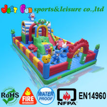 Inflatable fun city amusement park party rental for sale