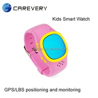 Kids children sos gps gsm watch cell phone wrist watch for kids tracking locator