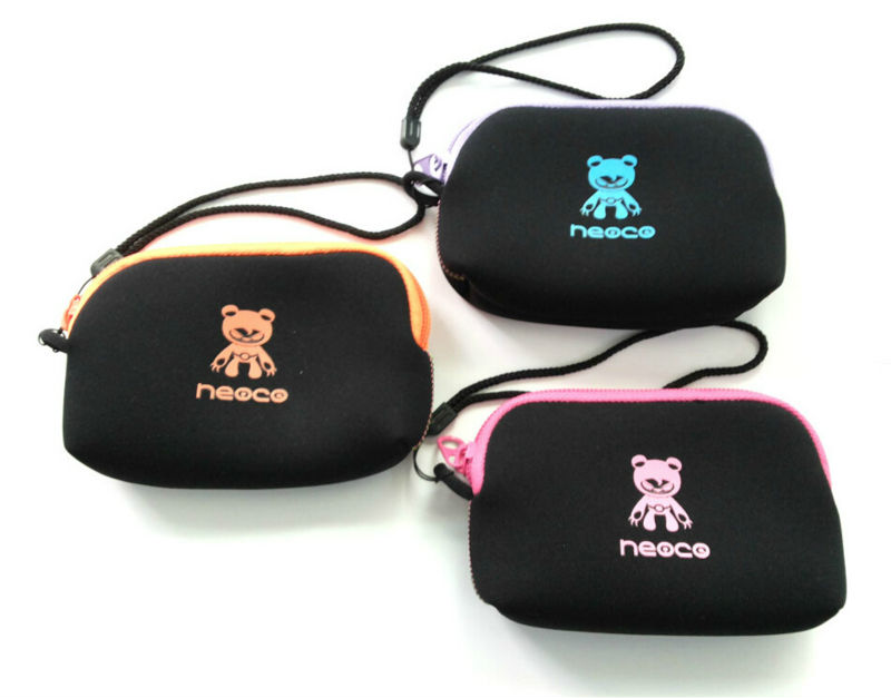 2014 Hot Selling wholesale simple neoprene flexible digit camera case