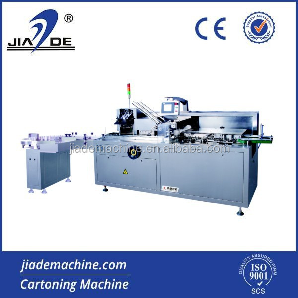 JDZ-100 Automatic Cosmetic carton filling machine