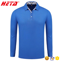 Fashion design wholesale custom long sleeve high quality long sleeve polo t shirt for men cheap china wholesale clothing