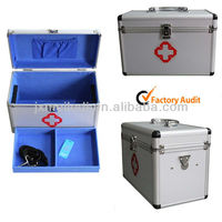Professional Durable Emergency Box Medicine Case Aluminium Frame Kit MLD-FAC44