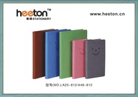 PU leather cover mini notebook for school