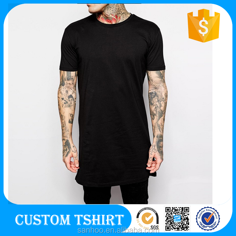 B2B Online Wholesale Shop Extra Long Clothes Man T Shirt Packaging China Product