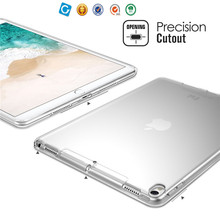 TPU soft transparent protective case for ipad pro 10.5 inch