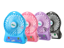 Creative USB Charging Summer Air Cooling Mini Fan