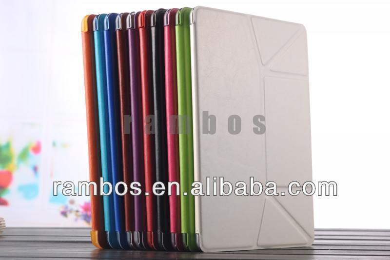 Ultra Thin Magnetic Tablet Leather Stand Transformers Case for <strong>iPad</strong> 5 for <strong>iPad</strong> Air