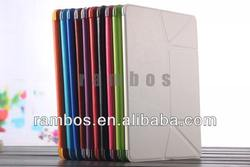 Ultra Thin Magnetic Tablet Leather Stand Transformers Case for iPad 5 for iPad Air