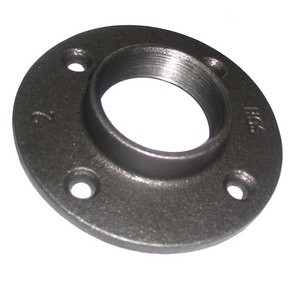 Beaded malleable iron pipe fittings of Flange