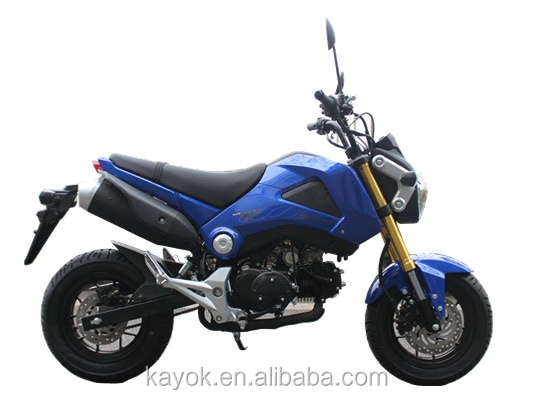 Motorcycle Chinese Motorcycles Gas/Diesel Moped With Pedals Motorcycles For Sale KM125