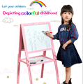 2016 new design wooden Lifting creativaly double-sided Magnetic Easel for Children middle size