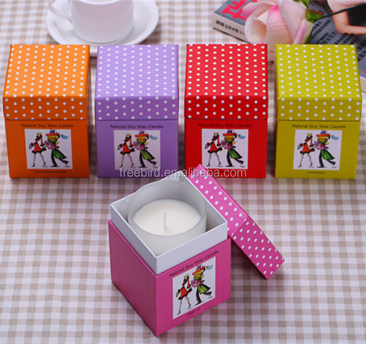 Luxury Pillar Decorative Natural Soy Wax Fragrance Candle