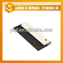 Wooden handle rubber putty knife scraper JL6116
