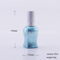 10ml Unique Sexy S Girl Shape Refillable Perfume Bottle Empty Spray Glass Bottle Multicolored 0.33oz