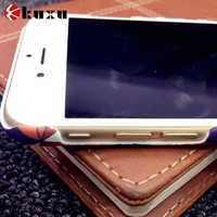 With photo frame phone pouch for iphone6 plus with credit card slot