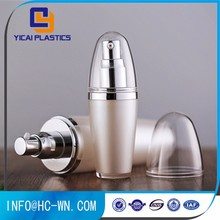 Professional made special design colorful shape cosmetic plastic bottles