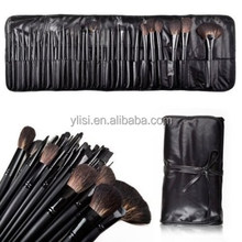 32pcs Professional Cosmetic Makeup Brush Brushes Set with Black Bag Case