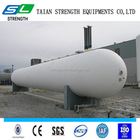 ASME ISO certification used stainless steel 50m3 20ton LPG customized propane gas hydrogen gas and natural gas storage tank