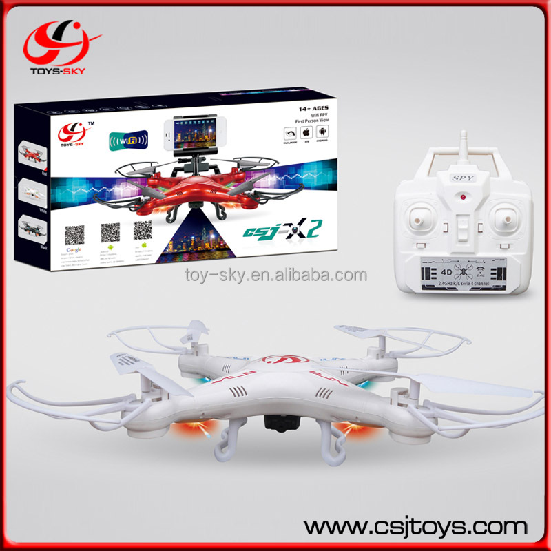 Syma X5SW FPV Explorers2 2.4Ghz 4CH 6-Axis Gyro RC Headless Quadcopter Drone UFO with Wifi Camera (Four color)