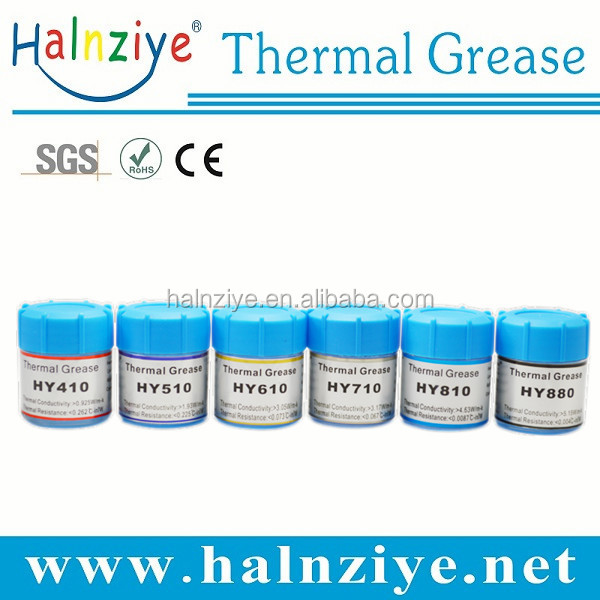 halnziye silicone heat sink conductive thermal compound paste grease for LED CPU VGA heat sink
