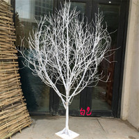 wedding table tree centerpieces artificial tree no leaves artificial white branch tree