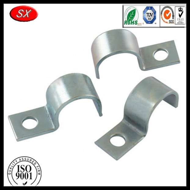 galvanised conduit saddle clip,steel strap clip,strap clips clamps sheet