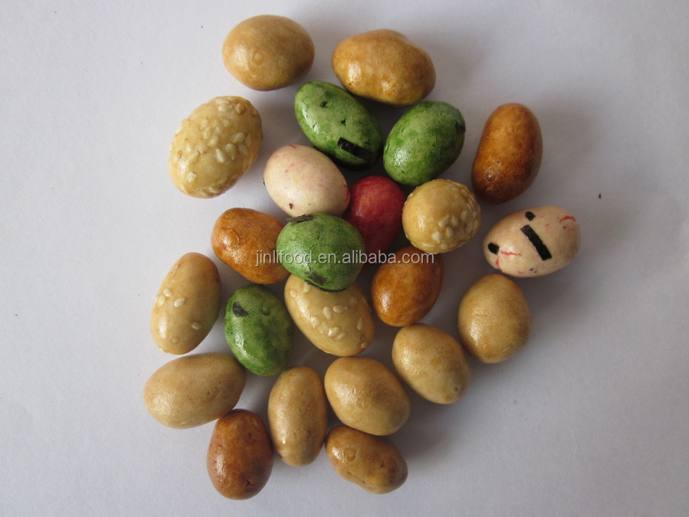 wasabi coated peanut original coated peanut