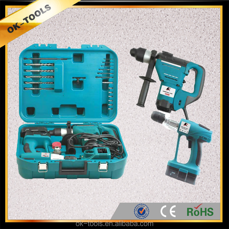 OK-tools Combination Power Tools 2 kinds of Cordless Electric tool set