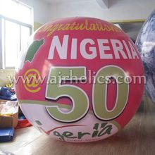 various inflatable helium balloon/ sky floating balloon for advertising